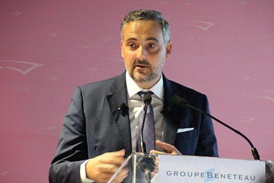 Gianguido Girotti, vice-président du groupe Bénéteau