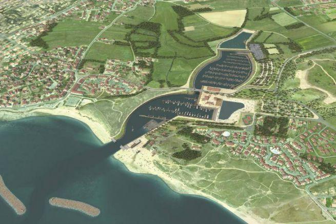 Progetto del porto turistico di Brétignolles-sur-Mer nella sensibile area naturale del Marais Girard