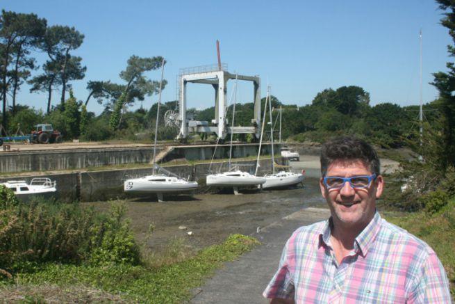 Serge Calvez, capo di Marée Haute