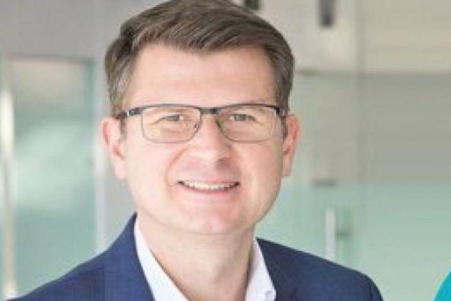 Arnaud Gourret, direttore del settore marittimo della Bretagna del Crédit Agricole