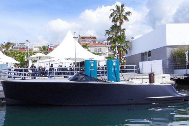 Stazione di ricarica per barche elettriche Vita SuperPower a Cannes