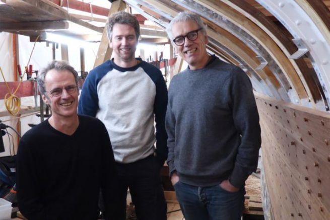 Louis Mauffret, Tegwen Mauffret e Yann Mauffret