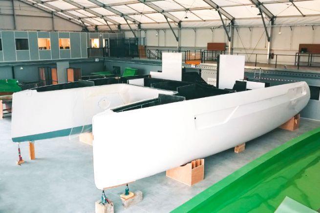 1° catamarano Windelo Adventure 50 in costruzione