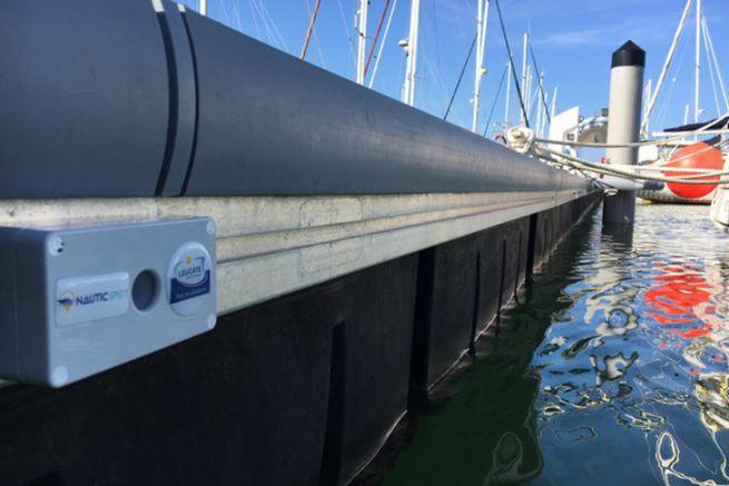 Sensore Nauticspot per la supervisione dei porti turistici