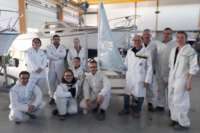Visita del sito organizzata dal Campus des Métiers et des Qualifications du nautisme in Pays de la Loire