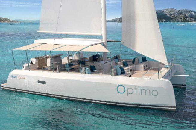 Optimo 40, il nuovo catamarano a noleggio giornaliero di Ocean Voyager
