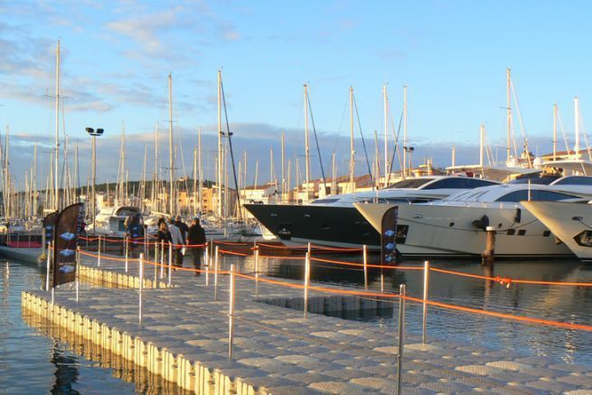 Passerella galleggiante Marinefloor