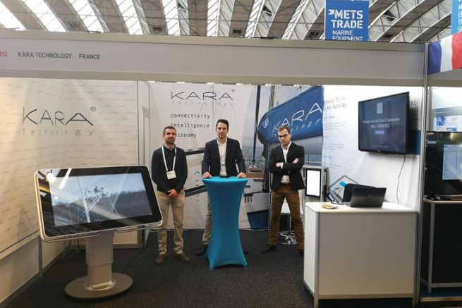 Il team di Kara Technology di METS Trade
