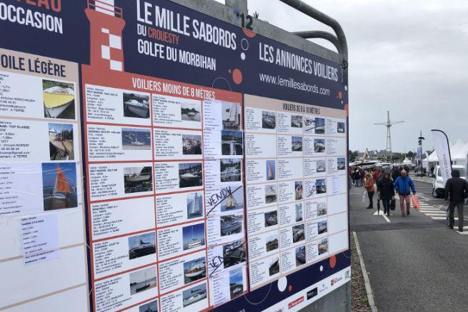 Barche a vela in vendita su Mille Sabords 2019