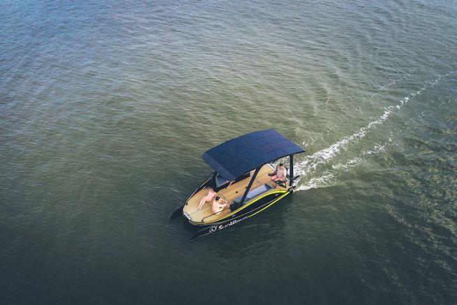 The Sun Wave S2, barca elettrica dell'anno 2019