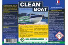 Nuova etichetta Clean Boat