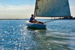 Anna, catboat de Beboat