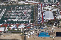 Vista aerea del Grand Pavois