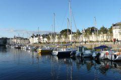 Marina di Vannes, Bretagna