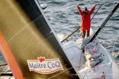 Jeremie Beyou, 3° nella Vendée Globe 2017 sul suo Master Gallo IMOCA