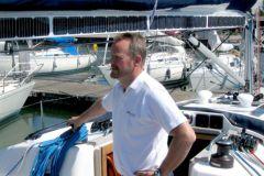 Christian Hallberg, directeur commercial du constructeur de moteurs électriques Oceanvolt