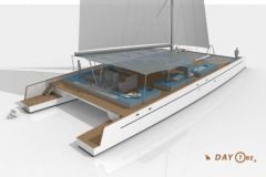 Nuovo catamarano Day One, costruito da TechniYachts Pinta
