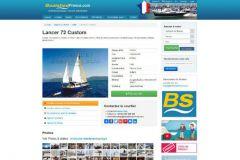 Barca a vela, usato sito di mediazione imbarcazioni da diporto