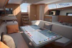 L'imbarcazione collegata da Allures Yachting e Kara Technology
