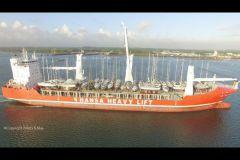 Trasporto di imbarcazioni da diporto a Peters & May