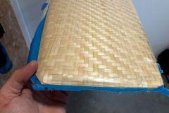 Smontaggio di un timone a fibra di bambù
