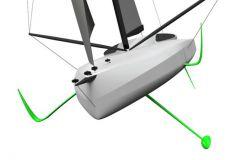 IMOCA di Armel Tripon, progettato da Sam Manuard e costruito da Black Pepper Yachts