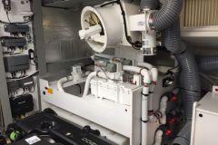 Salle Machine d'une vedette de plaisance à moteur