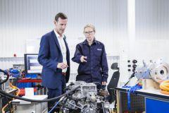 Il laboratorio di elettromobilità di Volvo Penta