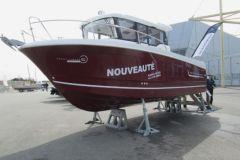 Calage d'un Merry Fisher Marlin 855 à l'aide de Parkup Evo de chez Nautipark