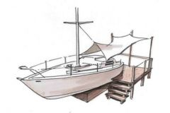 Progetto di conversione fuori servizio di imbarcazioni Batho's