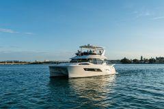 Catamaran à moteur Aquila 44