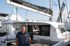 Eric Roger, vicedirettore dei catamarani Aventura