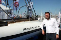 Damien Harlé, dirigeant des semi-rigides Pro Marine