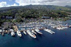 Barche a Taina Marina a Tahiti