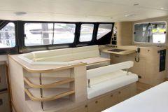 Interno di una barca da diporto realizzata da Naviline