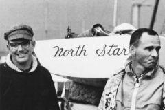 Peter Barrett et Lowell North au mondial de star en 1967 au Danemark