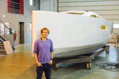 François Gabart rafforza la sua collaborazione con le barche a vela RM