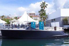 Borne de recharge de bateau électrique Vita SuperPower à Cannes