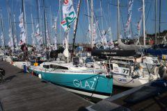 Le Glaz, voilier JPK 10.80 sponsorisé par le Crédit Agricole du Finistère, lors du Tour du Finistère 2019
