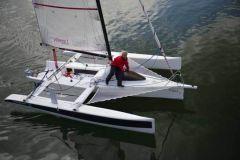 Stampa 3D della barca 3Dirigo nella grande stampante 3D dell'Università del Maine