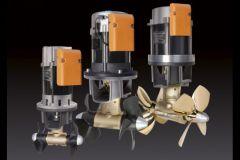 I 3 modelli di propulsori proporzionali Quick BTDC-AC