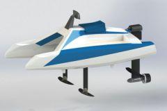 L'overboat de Neocean obtient le coup de coeur du jury du bateau électrique de l'année