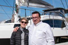Anna Nowotarska, nuovo responsabile delle vendite all'esportazione con Gilles Wagner, CEO di Privilège Marine