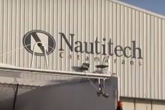 Ingresso al cantiere Nautitech