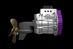 Version Z-Drive des moteurs électriques Volabo