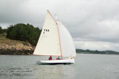 Barca a vela BE 6.4 da Be Boat at sea