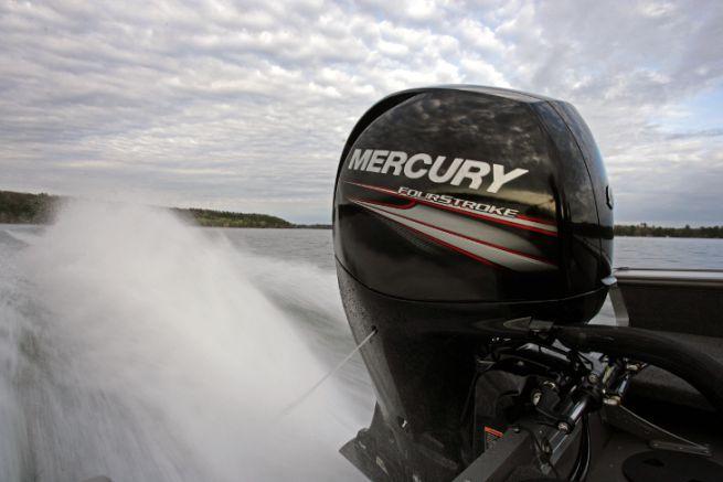 Motore fuoribordo a mercurio