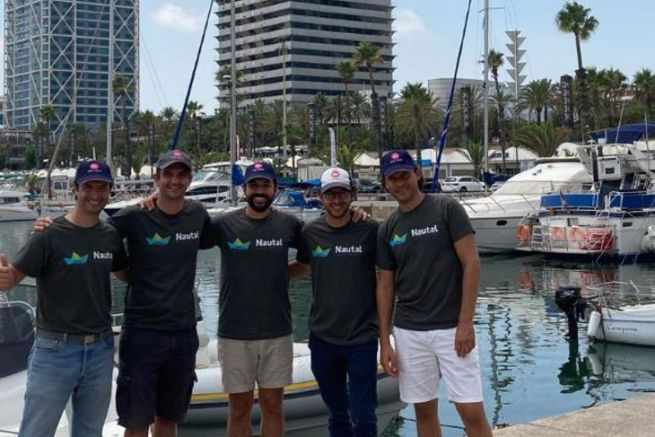 Nautal e il team di gestione Click&Boat insieme