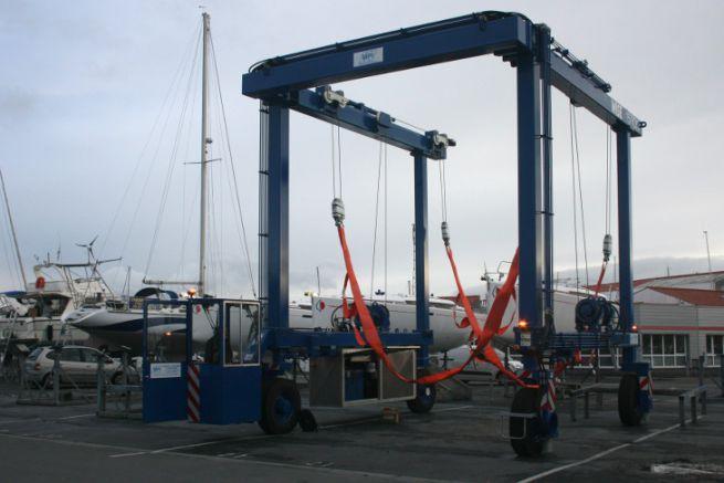 Nuovo impianto di risalita al Port des Minimes di La Rochelle